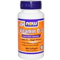 Vitamin D-3 1000 IU (360капс)