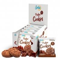Протеиновое печенье Solvie шоколадное с шоколадными чипсами (50г)