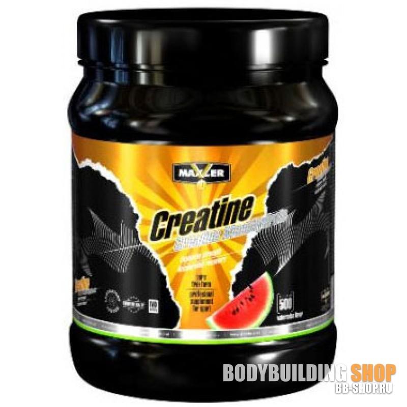 Flavoured creatine